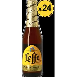 Flaschen Bier - Big Pack Leffe blonde - 24 bières