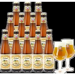 Samlingar - Pack Tripel Karmeliet - 12 bières et 2 verres