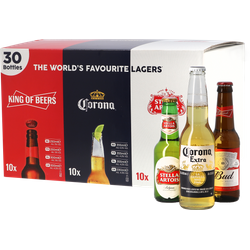 assortiments - Pack Lager 30 bouteilles