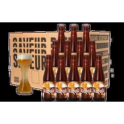 Accessoires et cadeaux - Pack Kwak - 12 bières