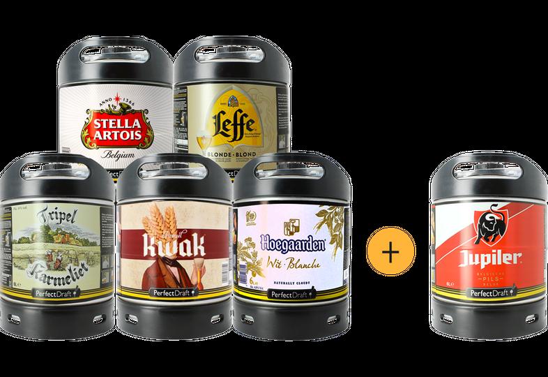 Fatöl - PerfectDraft 6L Bästsäljarna Pack - 5+1