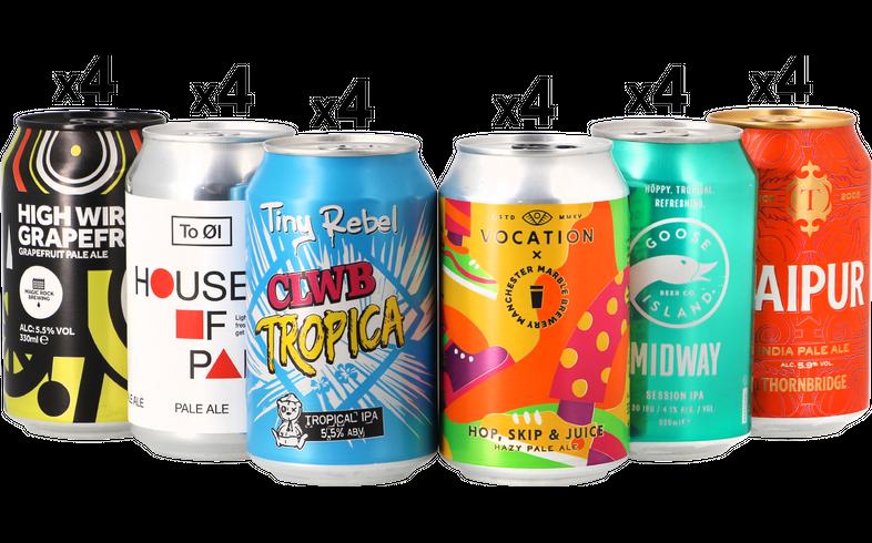 assortiments - Mega Pack IPA & Pale Ale - Pack de 24 bières