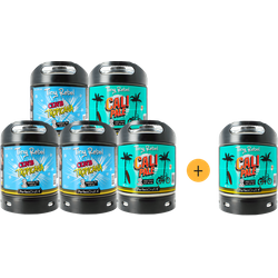 Kegs - Pack 5 fûts Tiny Rebel + 1 offert