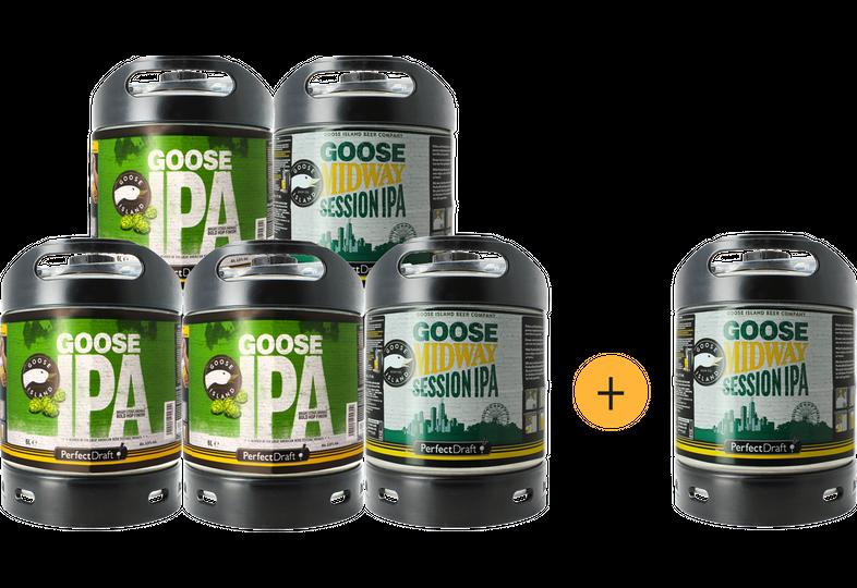 Fûts de bière - Pack 5 fûts Goose Island + 1 offert