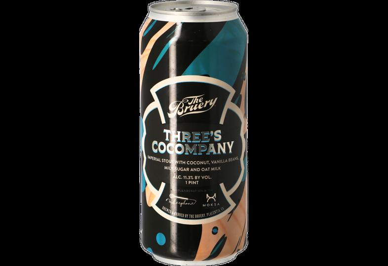 Bottiglie - The Bruery / Mikerphone / Moksa - Three's Cocompany