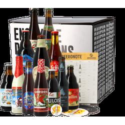 Pack de cervezas artesanales - Caja regalo Cervezas de Navidad