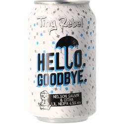 Bouteilles - Tiny Rebel Hello Goodbye