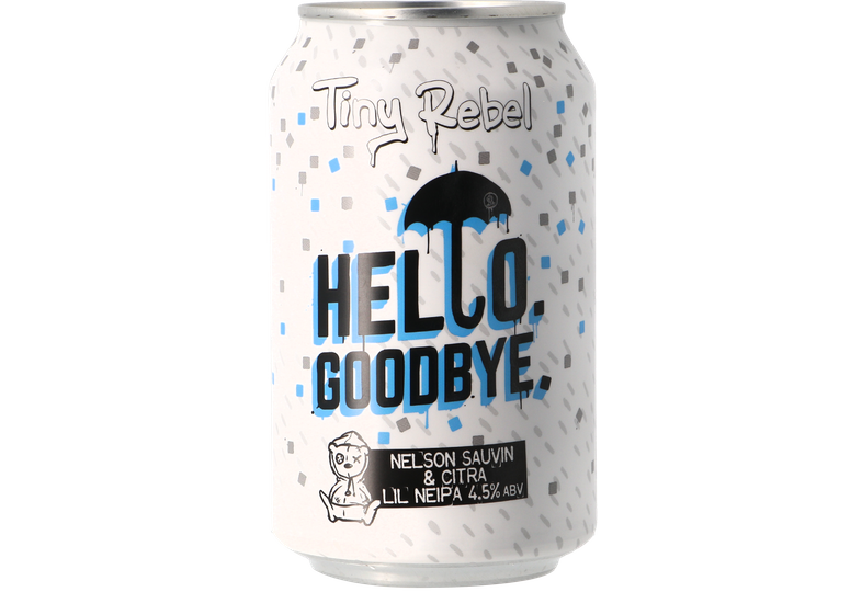 Bouteilles - Tiny Rebel Hello Goodbye