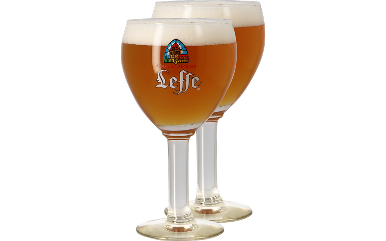 Ölglas - Pack 2 verres Leffe Calice - 33 cl