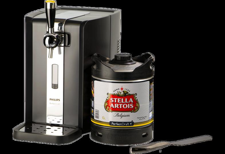 Tireuse à bière - Pack Tireuse PerfectDraft Stella + coupe mousse