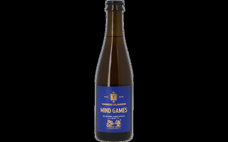 Bottled beer - Thornbridge x Firestone Walker - Mind Games Gin BA