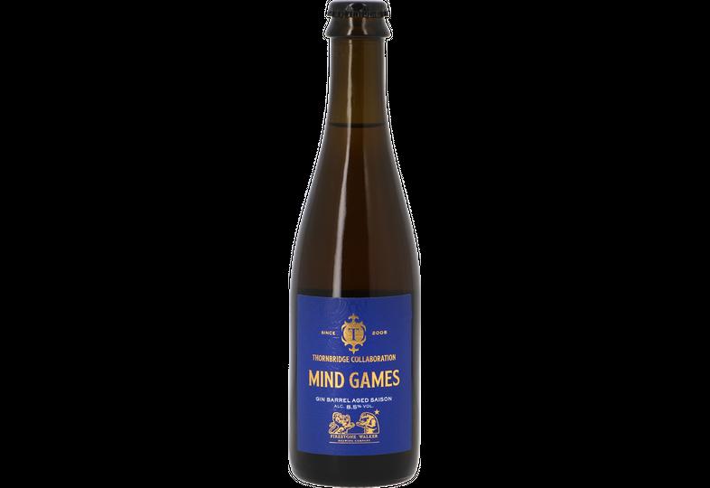 Bottled beer - Thornbridge / Firestone Walker - Mind Games Gin BA