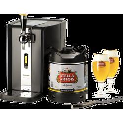 Tireuse à bière - Pack Tireuse PerfectDraft Stella + 2 verres + coupe mousse