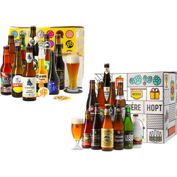 Coffrets Saveur Bière - Pack Duo Coffret Bières Voyage