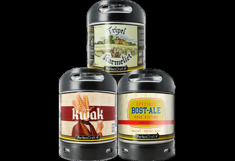 Tapvaten - BOST-ALE - Tripel Karmeliet - Kwak - 3pack