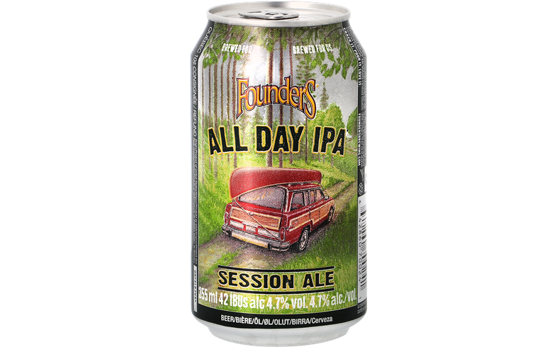 Pack de bières - Pack Founders All Day IPA Now in a can - Pack de 12 bières