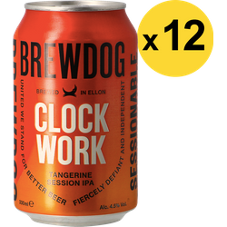 Big packs - Pack Brewdog Clockwork Tangerine - 12 bières
