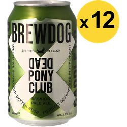 Big packs - Pack Brewdog Dead Pony Club - 12 bières
