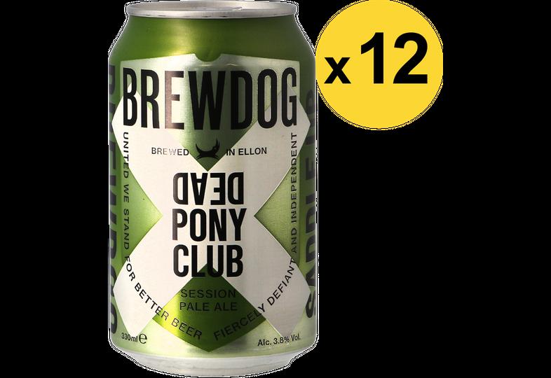 Pack de bières - Pack Brewdog Dead Pony Club - 12 bières