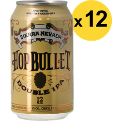 Pack de bières - Pack Sierra Nevada Hop Bullet Double IPA - 12 bières