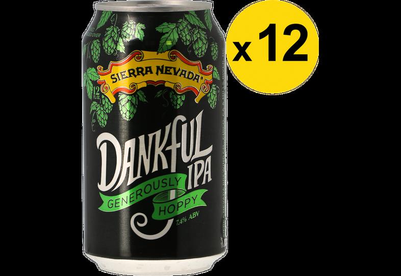Pack de bières - Pack Sierra Nevada Dankful IPA - 12 bières