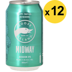 Big packs - Pack Goose Island Midway Session IPA - 12 bières