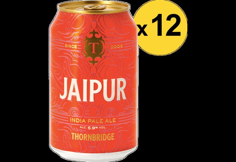 Pack de bières - Pack Thornbridge Jaipur - 12 bières