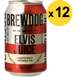 Big packs - Pack Brewdog Elvis Juice - 12 bières