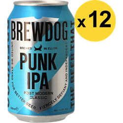 Big packs - Pack Brewdog Punk IPA - 12 bières