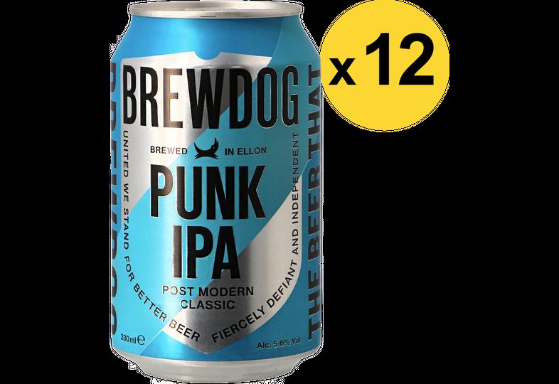 Confezioni risparmio - Pack Brewdog Punk IPA x12