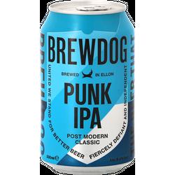 Pack de bières - Pack Brewdog Punk IPA - 12 bières