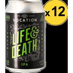 Pack de bières - Pack Vocation Life & Death - 12 bières