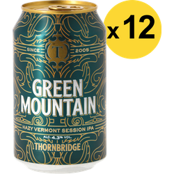 Pack de bières - Pack Thornbridge Green Mountain - 12 bières