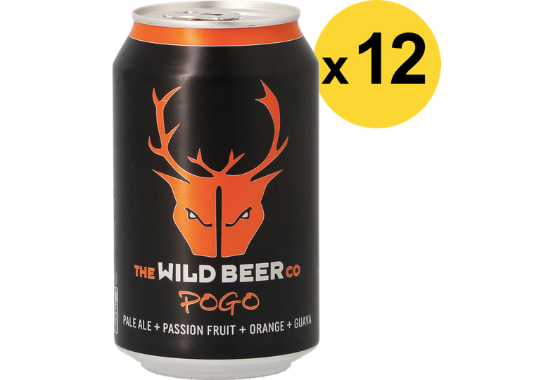 Pack de bières - Pack Wild Beer Pogo - 12 bières