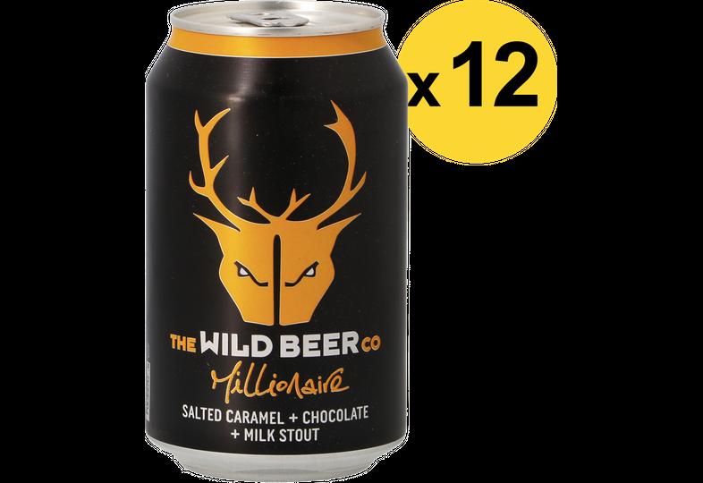 Pack de bières - Pack Wild Beer Millionaire - 12 bières