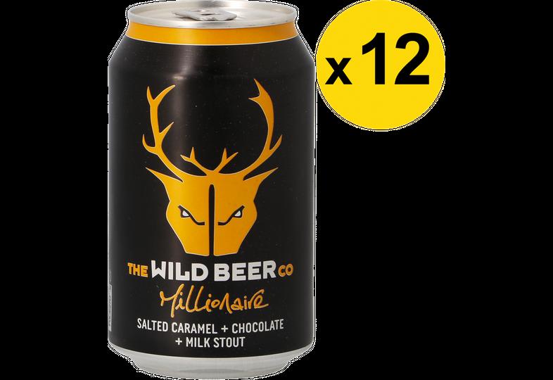 Confezioni risparmio - Pack Wild Beer Millionaire x12