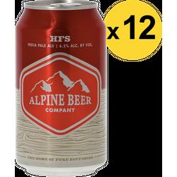 Pack de bières - Pack Alpine HFS - 12 bières