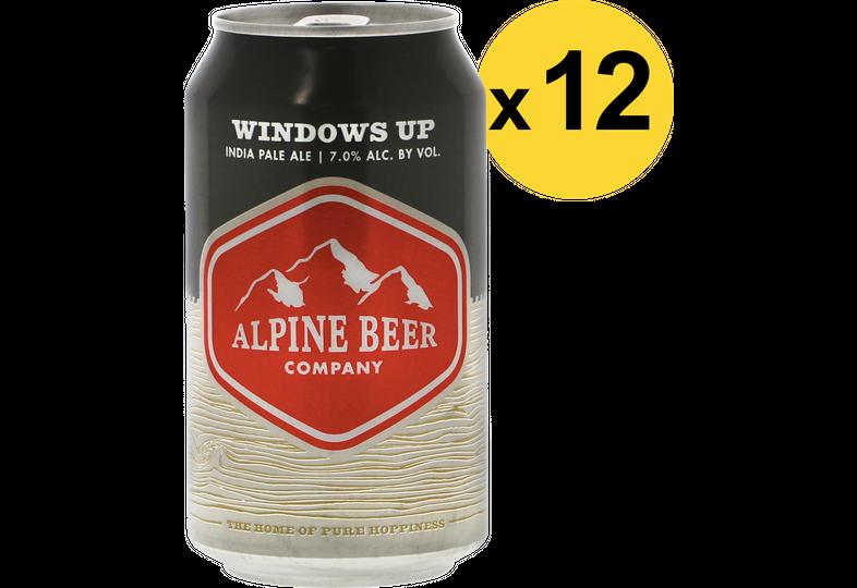 Pack de bières - Pack Alpine Windows Up - 12 bières