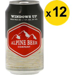 Pack de bières - Pack Alpine Windows Up - 12 bières