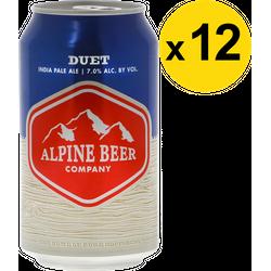 Pack de bières - Pack Alpine Duet - 12 bières