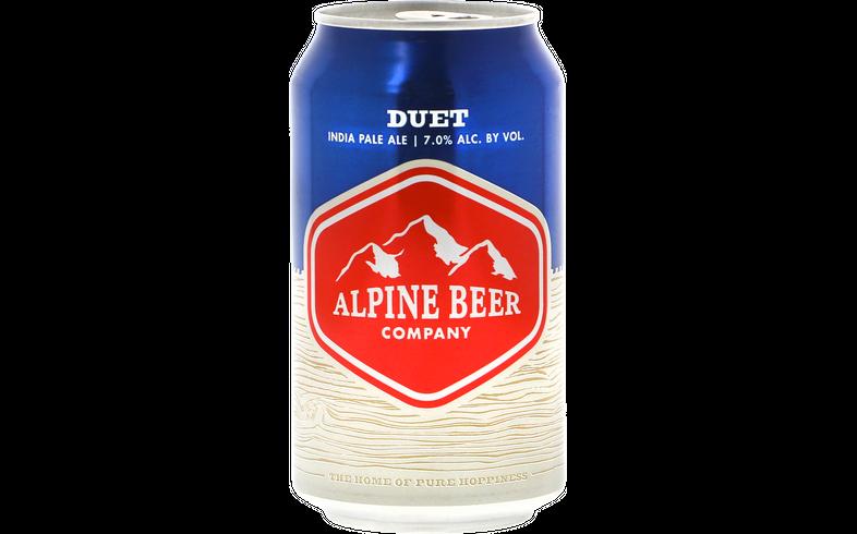 Pack de bières - Pack Alpine Duet - Pack de 12 bières