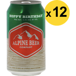 Big packs - Pack Alpine Hoppy Birthday - 12 bières
