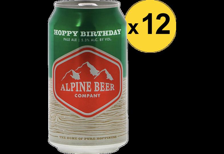 Pack de bières - Pack Alpine Hoppy Birthday - 12 bières