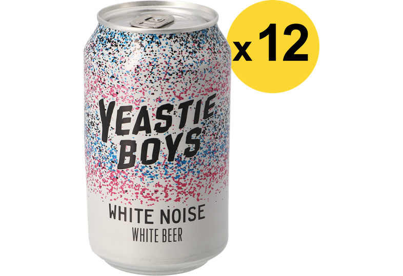 Confezioni risparmio - Pack Yeastie Boys White Noise x12