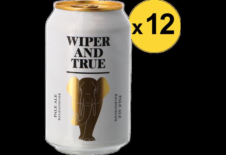 Pack de bières - Pack Wiper And True - Kaleidoscope - 12 bières