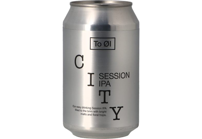 Bouteilles - To Øl CITY Session IPA - can
