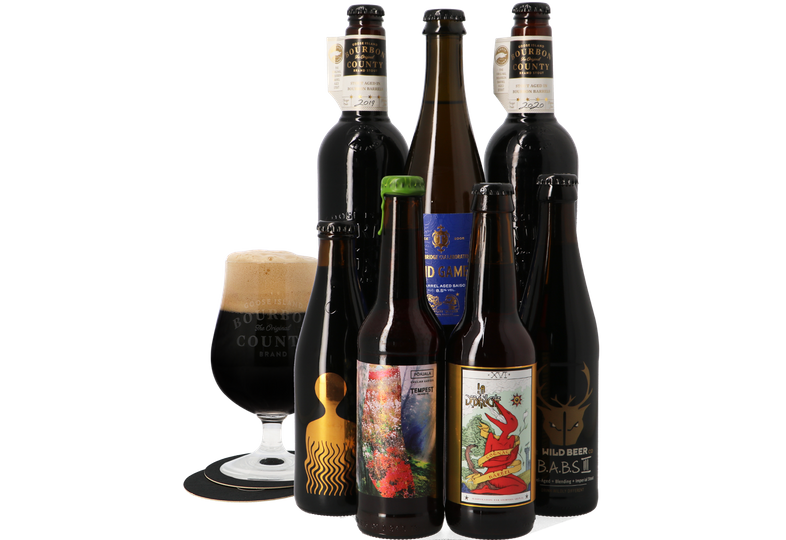 Bierpakketten - Bierpakket BCBS - Barrel Aged Collection