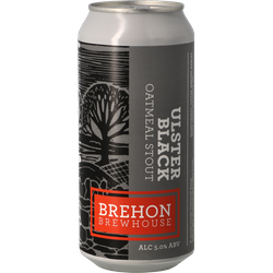 Bottled beer - Brehon Ulster Black Oatmeal Stout - Can