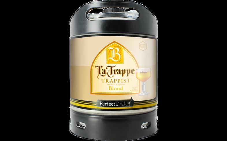 Fässer - La Trappe Blond PerfectDraft 6 Liter - Mehrweg