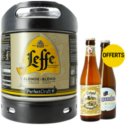 Fûts de bière - Pack Dégustation PerfectDraft Karmeliet - Hoegaarden